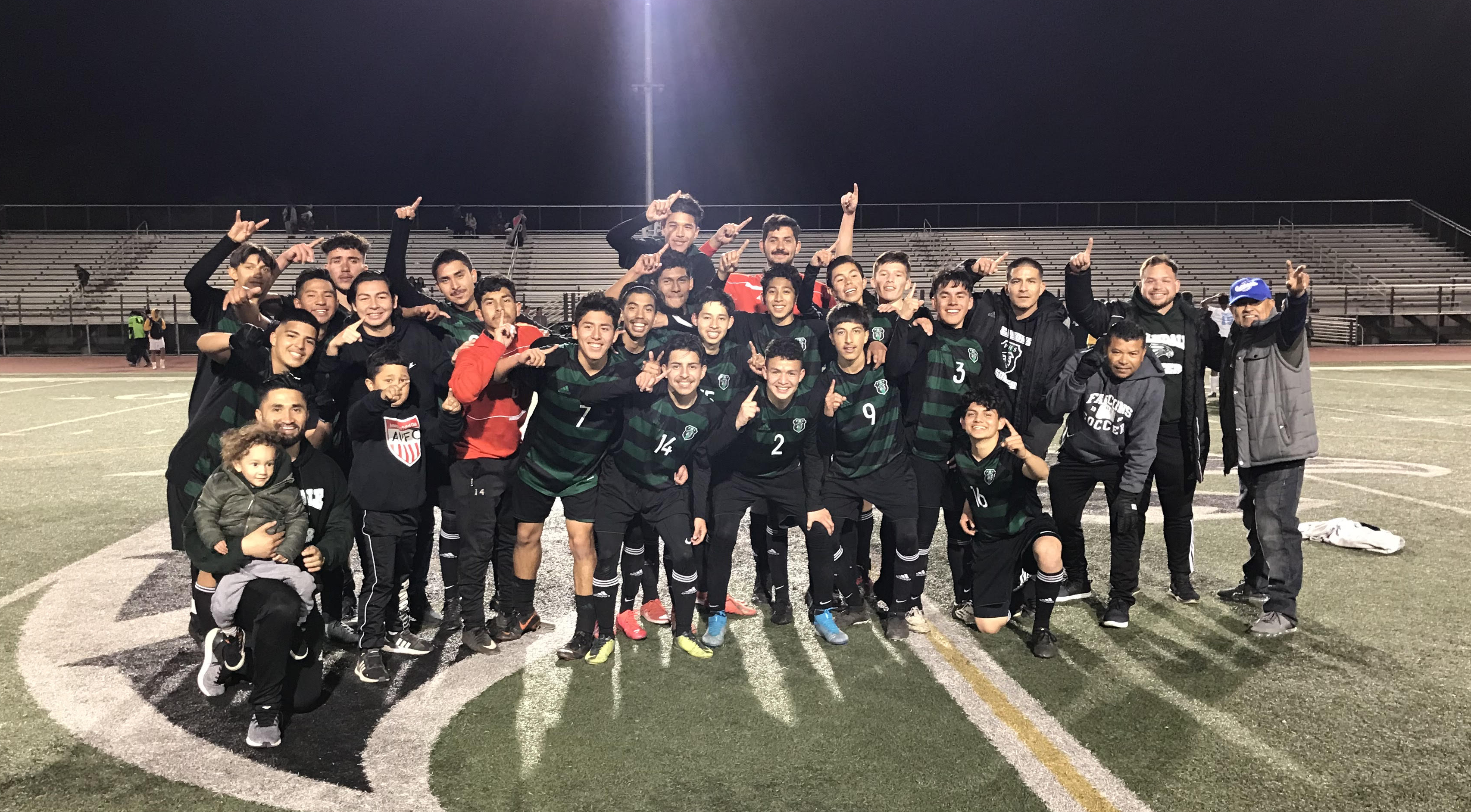 PHS Boys Varsity Soccer Team Takes 1ST Place In Golden League
